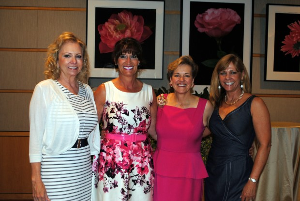 Pictured left to right: Brenda Ridnour with Pickens Ridnour, Liz Trocchio Smith, Nora Hogan, Transwestern (also a recipient of the Power Women Award), and Sheryl Pickens with Pickens Ridnour.