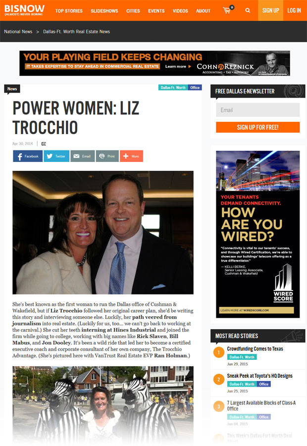 Power Women: Liz Trocchio